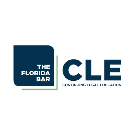 The Florida Bar Continuing Legal Education Logo Graphic