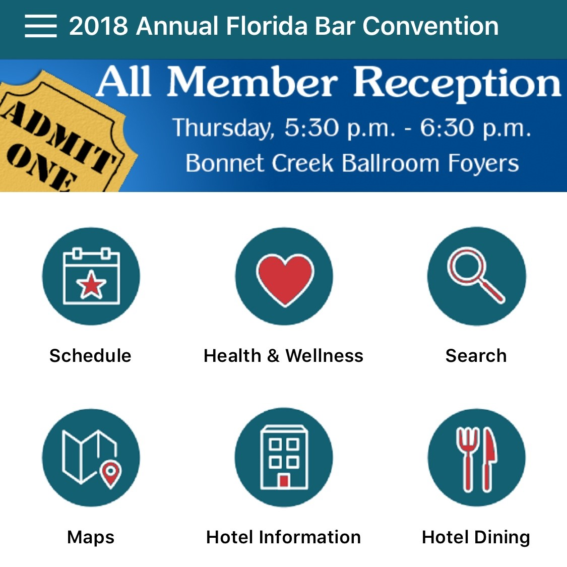 Annual Convention App