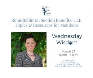 Wednesday Wisdom 'Roundtable'