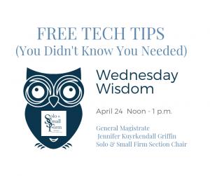 Free Tech Tips