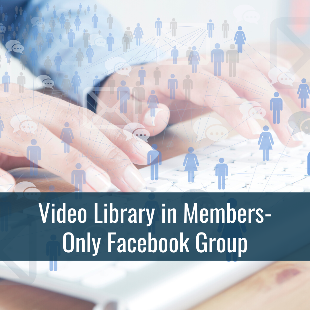 Video Library in Facebook Group