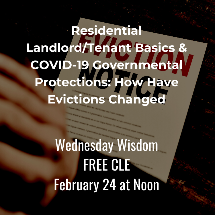 Free Landlord/Tenant CLE
