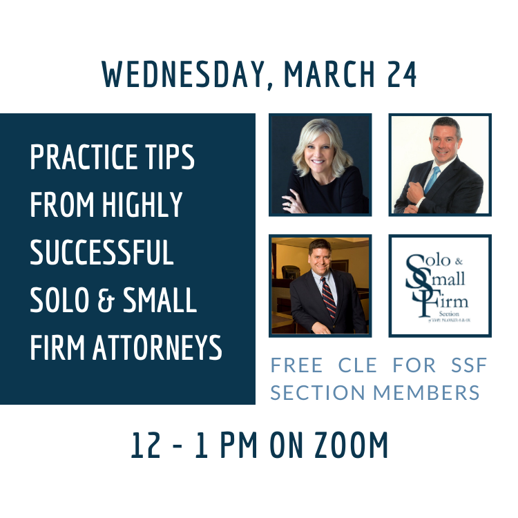 Practice Tips From Successful Attorneys