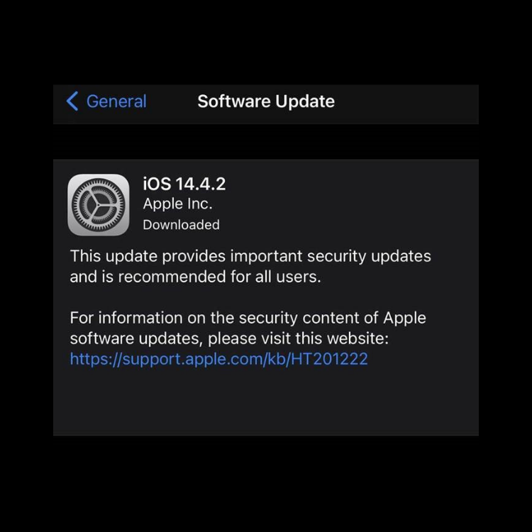 Important IOS Updates